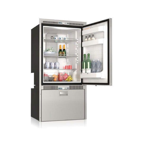 Kombinierter Kühl- und Gefrierschrank / für Boote / Einbau ...