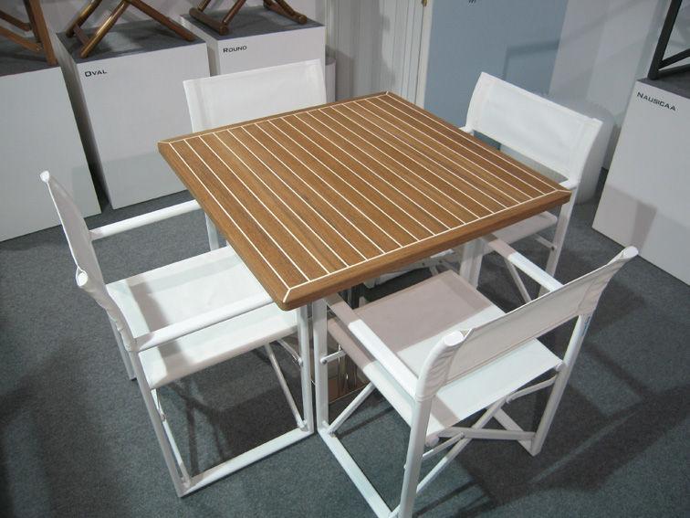 Teakholztischplatte piani tavolo in teak su misura valdenassi