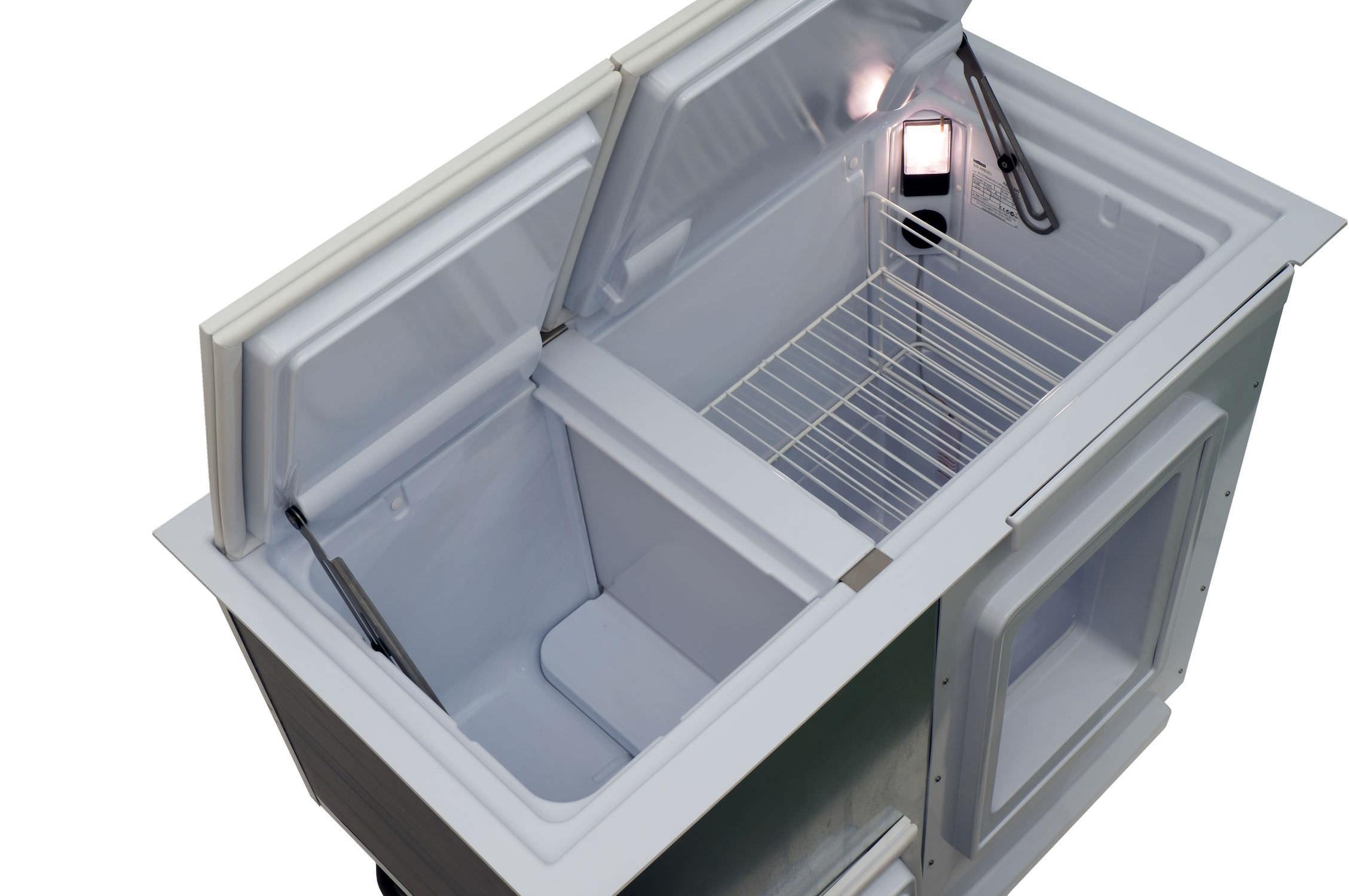 Kombinierter Kühl- und Gefrierschrank / Einbau / Toplader - BI 172 ...