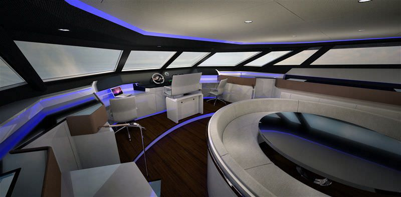 Yachten innenausstattung  Katamaran-Motoryacht / Fahrten / Flybridge / Shaft-Drive - I54PC ...