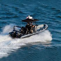 Außenbord-Patrouillenboot / Festrumpf-Schlauchboot