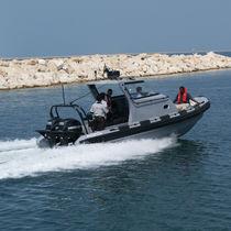 Außenbord-Militärboot / Festrumpf-Schlauchboot