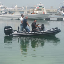 Außenbord-Militärboot / Festrumpf-Schlauchboot / Aluminium