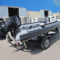 Außenbord-Militärboot / Schlauchboot