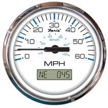 Geschwindigkeitsmesser für Boote / analog / digital