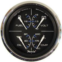 Standanzeige für Boote / DC Amperemeter / Niveau / Öldruck