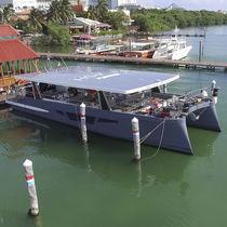 Katamaran-Motoryacht / Charter / Hard-top