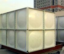 Abwasserbehälter / für Werft / Glasfaser