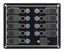 Schalttafel für Boote / wasserdicht / Strom / USB-Anschluss