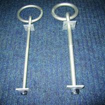 Ankerring / rund / verzinkter Stahl