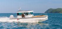 Außenbord-Konsolenboot / Mittelkonsole / Hard-top / mit geschlossenem Cockpit