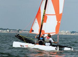 Katamaran sport  Sportkatamaran - alle Hersteller aus dem Bereich Bootindustrie und ...
