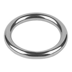 Edelstahl ring rund