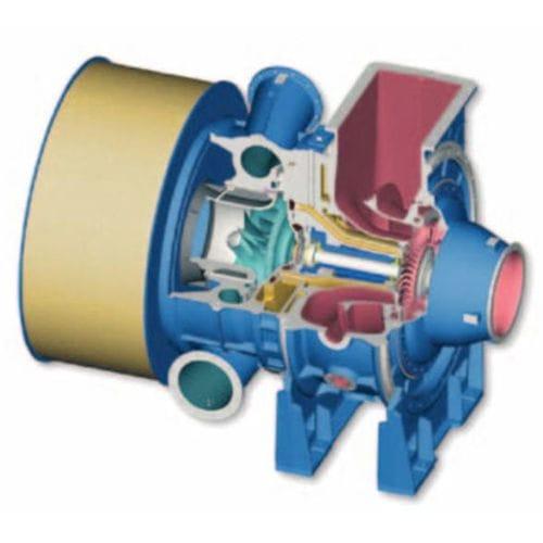 Axialturbine-Turbolader - MAN Diesel SE