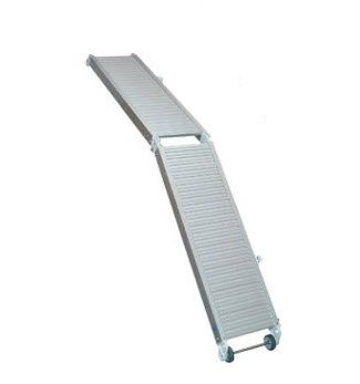 Gangway zur Anwendung auf Booten / faltbar / manuell / Aluminium