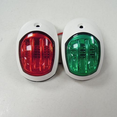 Navigation Leuchte / zur Anwendung auf Booten / LED / weiß / Edelstahl