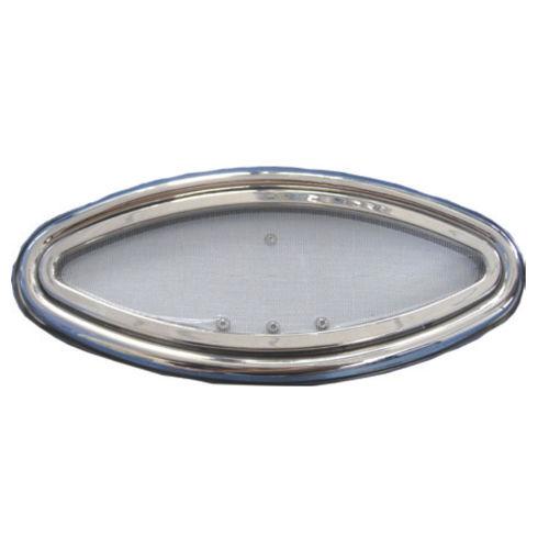 ovales Bullauge / für Boote / zum Öffnen / mit abgerundetem Winkel