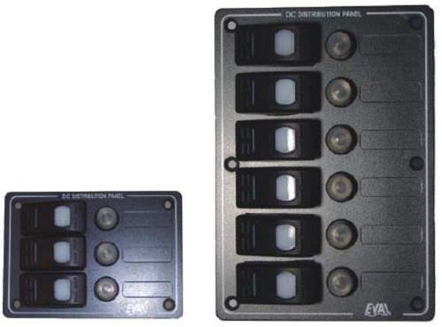 Schalttafel für Boote / wasserdicht / LED