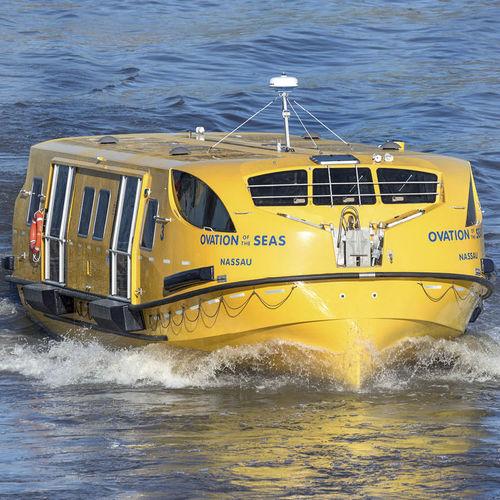 partiell geschlossen Vollständig geschlossenes Rettungsboot für Schiffe / für Schiffe