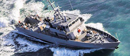 Spezialschiff zur Überwachung
