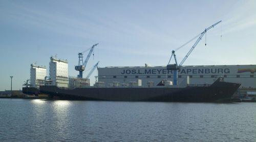 Containerschiff-Frachtschiff / Eisklasse