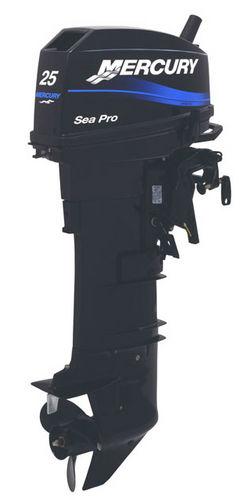 Motor für Berufsboot / Außenborder / Benzin / 2-Takt