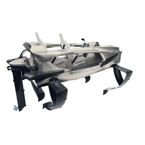 Offenes Boot / Außenbord / elektrisch / 2 Plätze / Tragflügel