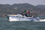 Innenborder-Konsolenboot / Gleiter / Aluminium / max. 10 Personen LAP-1 Baglietto spa