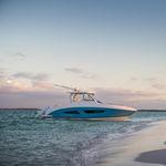 Außenbord-Runabout / zweimotorig / Bowrider / Sportfischer