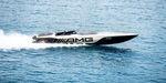 Innenborder-Runabout / Doppelkonsole / Offshore / mit Kabine