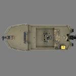 Jon-Boat / Außenbord / Mittelkonsole / Sportfischer / Aluminium 1860 MVX SPORTSMAN Triton Boats