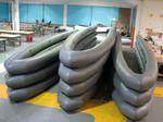 Schwimmkörper für Schlauchboote