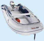 Außenbord-Schlauchboot / faltbar / Aluminium / Aluminiumboden