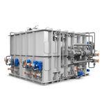 Behandlungssystem für Schwarzwasser / für Schiffe / mit Separator / Membran