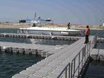 schwimmender Ponton / modular / Anker / für Yachthäfen