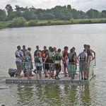 Plattform für Boote / für Yachthäfen / Multifunktion / Modulare