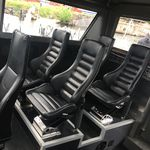 Steuermannsitz / für Berufsboote / hohe Rückenlehne / einstellbar