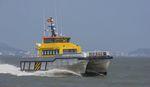 Offshore Service Schiff für Windpark