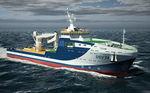 Offshore Service Schiff / TaucherVersorgung