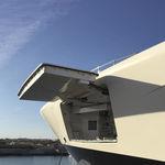 Heck-Seitentür / für Schiffe / für Yachten