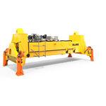 Spreader für beladene Container / für Ship-To-Shore-Kran / teleskopisch / elektrohydraulisch 8315 ELME Spreader AB