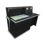 Kartentisch für Schiffe / feststehend / digital