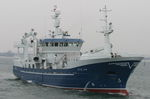 Berufsschiff für Fischerei / Trawler