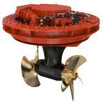 Antriebsstrahl-Strahlruder / für Schiffe / elektrisch / kompakt