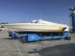 Anhänger für Materialumschlag / für Werft / mit Eigenantrieb / ferngesteuert