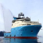 Versorgung Offshore Service Schiff / Eisklasse