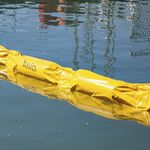 Sperre zur Schadstoffbekämpfung / schwimmend / für Fluss / für Häfen