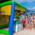 Sonnenschutz-Wasserspielgerät / aufblasbar
