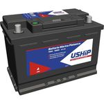 12V-Bootsbatterie / Starter