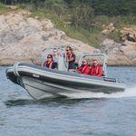 Patrouillenboot / Arbeitsboot / Außenbord / Aluminium